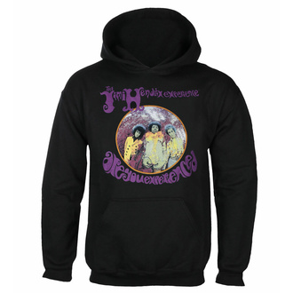 sweatshirt pour homme Jimi Hendrix - Are You experienced - Noir - RTJHHDBARE