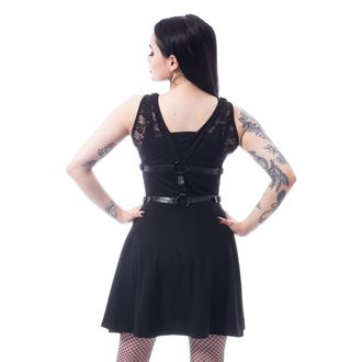 Robe pour femmes POIZEN INDUSTRIES - BLACK, POIZEN INDUSTRIES