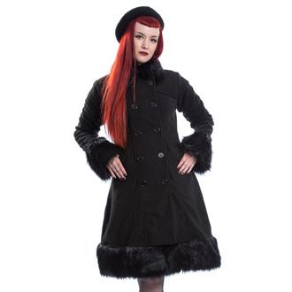 Manteau pour femmes POIZEN INDUSTRIES - HARRIET - NOIR, POIZEN INDUSTRIES