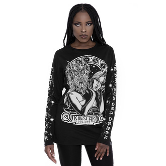 T-shirt unisex avec manches longues KILLSTAR - Hey Demon, KILLSTAR
