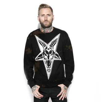 sweat-shirt sans capuche pour hommes - Baphomet - BLACK CRAFT, BLACK CRAFT