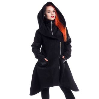 Manteau pour femmes HEARTLESS - HUNCH - NOIR, HEARTLESS