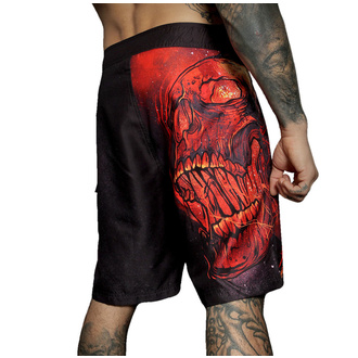 Maillots de bain (short) pour hommes HYRAW - BURN IN HELL, HYRAW