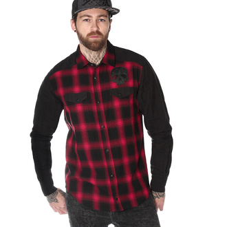 Chemise à manches longues pour hommes HYRAW - CHEMISE DEATH SHADOW, HYRAW