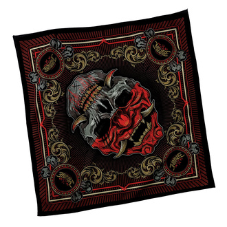 Foulard HYRAW - SKULL COLOR, HYRAW