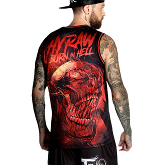 Top (jersey) pour hommes HYRAW - BURN IN HELL, HYRAW