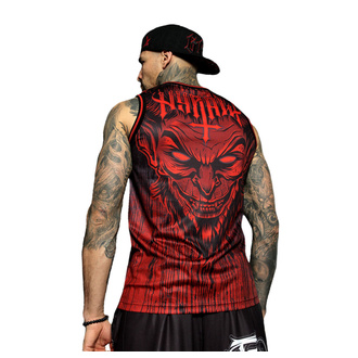 Top (jersey) pour hommes HYRAW - LUCIFER - ROUGE, HYRAW