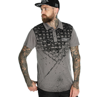 T-shirt pour hommes HYRAW - Graphic - POLO CATACOMB, HYRAW