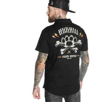 T-shirt pour hommes HYRAW - Graphic - POLO KNUCKLEDUSTER, HYRAW