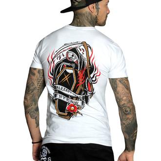 T-shirt pour hommes HYRAW - Graphic - COFFIN BLANC, HYRAW