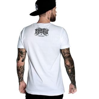 T-shirt pour hommes HYRAW - Graphic - Fucking H blanc, HYRAW