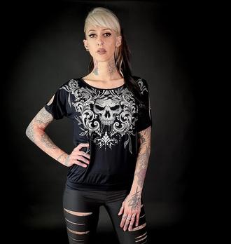 T-shirt pour femmes HYRAW - NIGHTMARE - FW21-W08-TSF