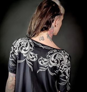 T-shirt pour femmes HYRAW - NIGHTMARE, HYRAW