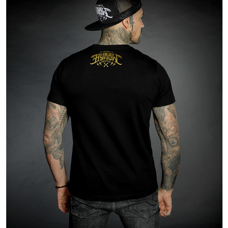 T-shirt pour hommes HYRAW - Graphic - ALREADY DEAD - OR, HYRAW