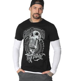 T-shirt à manches longues pour hommes HYRAW - EVIL RECORD, HYRAW