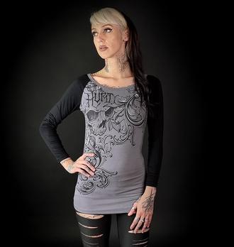 T-shirt pour femmes à manches longues HYRAW - HURT, HYRAW