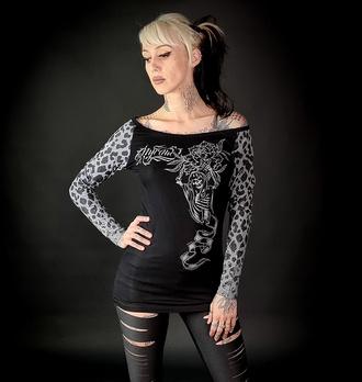 T-shirt pour femmes à manches longues HYRAW - WILD, HYRAW