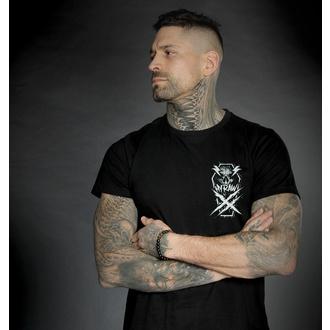 T-shirt pour hommes HYRAW - Graphic - GO FUCK - NOIR, HYRAW