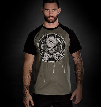 T-shirt pour homme HYRAW - BLAZON - GRIS - FW21-M16-SST