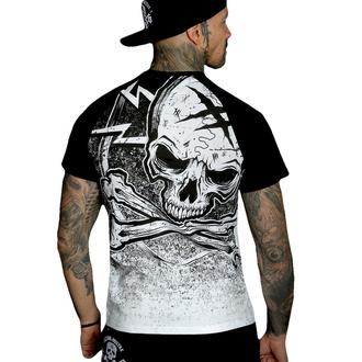 T-shirt pour hommes HYRAW - Graphic - RAGLAN BLASON - BLANC - SS21-M22-TSH