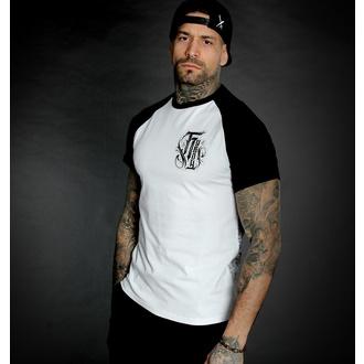T-shirt pour hommes HYRAW - Graphic - RAGLAN BLASON - BLANC, HYRAW