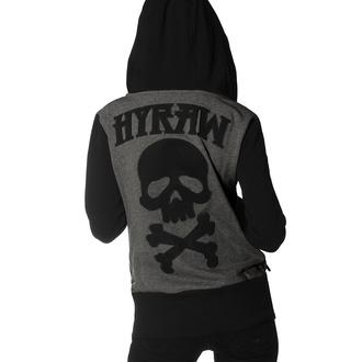 Sweat à capuche pour femmes HYRAW - DEATH SHADOW, HYRAW