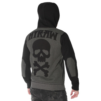 Sweat à capuche pour hommes HYRAW - DEATH SHADOW, HYRAW