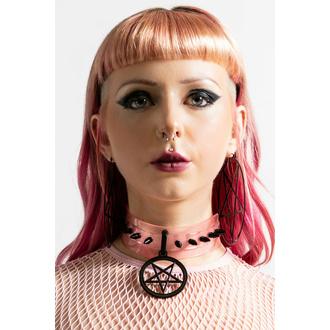 Ras de cou KILLSTAR - IC  magic - Pastel Pink, KILLSTAR