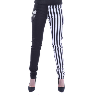 Pantalon chemical black - IDA - BLANC / NOIR, CHEMICAL BLACK