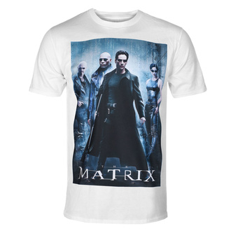 T-shirt pour hommes The Matrix - Poster - blanc - HYBRIS, HYBRIS, Matrix