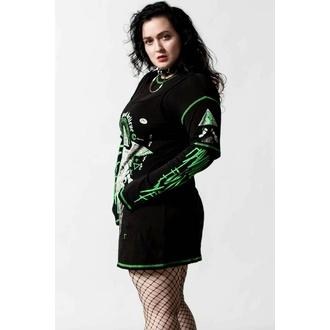 Robe pour femme KILLSTAR - Illuminated 3-Layer - Noir, KILLSTAR