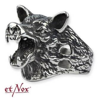 bague ETNOX - Wolf Head, ETNOX