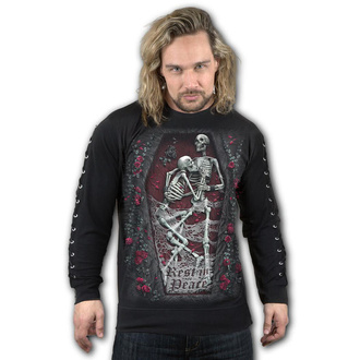 sweat-shirt sans capuche pour hommes - REST IN PEACE - SPIRAL, SPIRAL