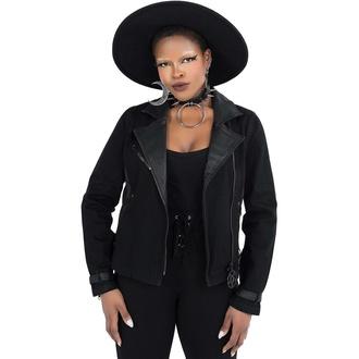 Veste pour femme KILLSTAR - Interstate Biker - Noir, KILLSTAR