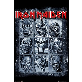 Affiche IRON MAIDEN - GB posters, GB posters, Iron Maiden