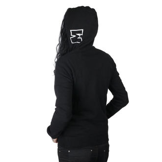 sweat-shirt avec capuche pour femmes - SQUAD PO BLK - METAL MULISHA, METAL MULISHA