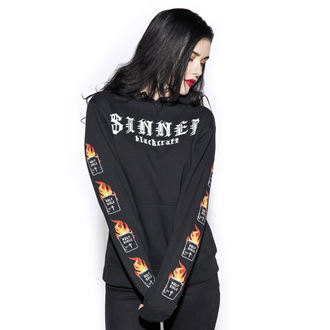 sweat-shirt avec capuche pour hommes - Sinner - BLACK CRAFT, BLACK CRAFT