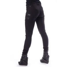 Pantalon femmes Chemical black - JENNA - NOIR, CHEMICAL BLACK