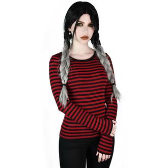 T-shirt à manches longues pour femmes KILLSTAR - Jett - BLOOD, KILLSTAR