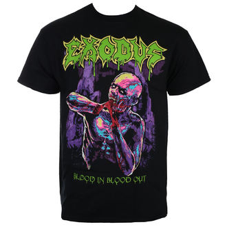 tee-shirt métal pour hommes Exodus - BLOOD IN BLOOD OUT- JSR - Just Say Rock - EXD1024
