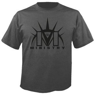 tee-shirt métal pour hommes Ministry - Logo GREY - NUCLEAR BLAST, NUCLEAR BLAST, Ministry