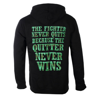Sweat à capuche pour hommes Dropkick Murphys - Fighter Plaid - Noir - KINGS ROAD - 20128736