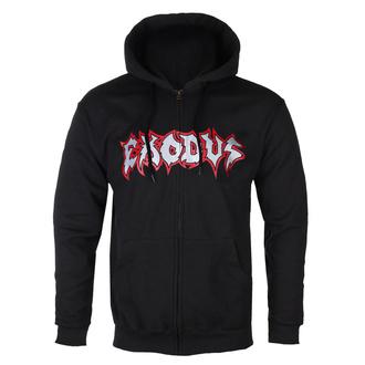 Sweat à capuche pour hommes Exodus - Metal Command Silver - Noir - KINGS ROAD, KINGS ROAD, Exodus