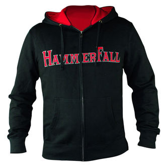 sweat-shirt avec capuche pour femmes Hammerfall - Hammered DELUXE Girlie ZIP HOOD - NUCLEAR BLAST, NUCLEAR BLAST, Hammerfall