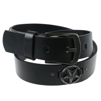Ceinture Baphomet, JM LEATHER