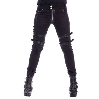 Pantalon femmes HEARTLESS - JOY - NOIR, HEARTLESS