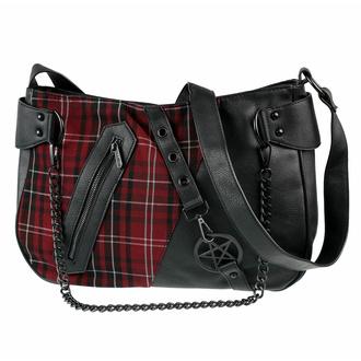 sac à main (sac) KILLSTAR - Harley Chain - BLOOD TARTAN, KILLSTAR