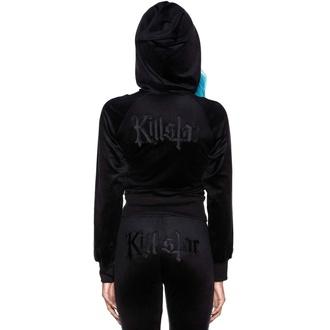 Sweat à capuche pour femme KILLSTAR - Just Crew-Sin Velvet - NOIR, KILLSTAR