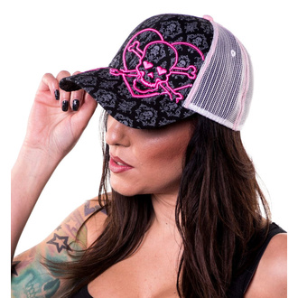 Casquette LETHAL THREAT - ANGEL HEART SKULL, LETHAL THREAT