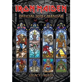 Calendrier 2019 IRON MAIDEN, NNM, Iron Maiden